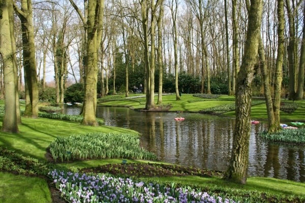 mihaela, keukenhof-holland, bucharest